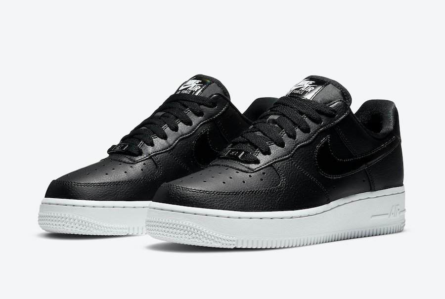 Nike Air Force 1 Low Black Iridescent CJ1646-001 Release Date Info