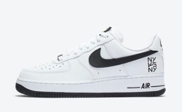 Nike Air Force 1 Low NY vs NY CW7297-100 Release Date Info