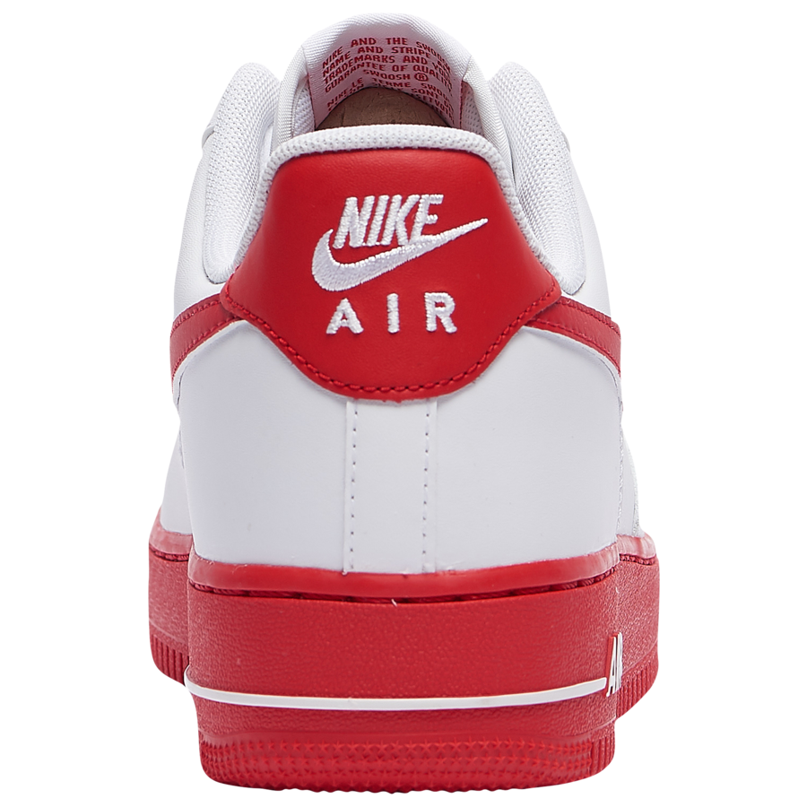 Nike Air Force 1 Low White University Red CK7663-102 Release Date Info