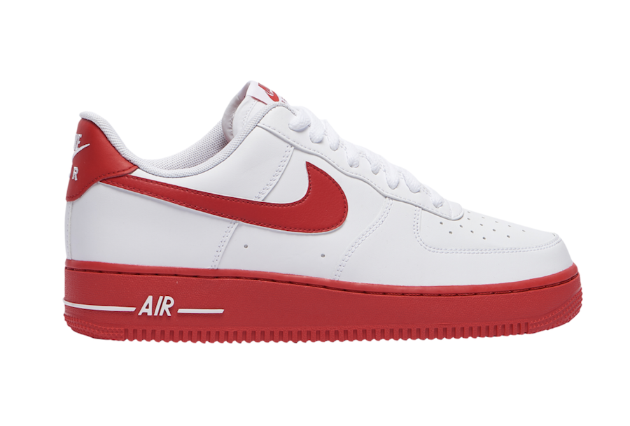 Nike Air Force 1 Low White University Red CK7663-102