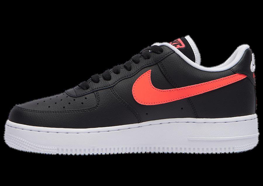 Nike Air Force 1 Low Worldwide Black Crimson CK6924-001 Release Date Info