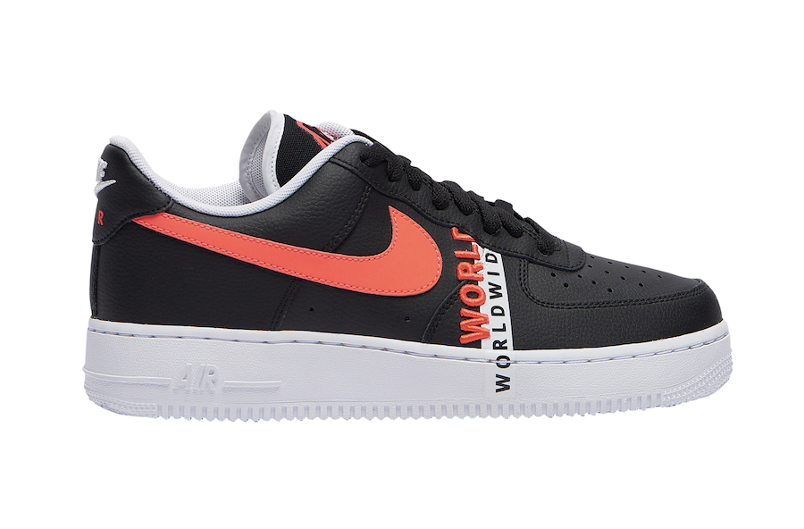 Nike Air Force 1 Low Worldwide Black Crimson CK6924-001