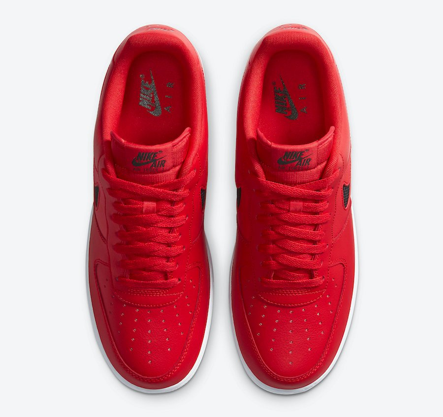 Nike Air Force 1 Red CZ7377-600 Release Date Info