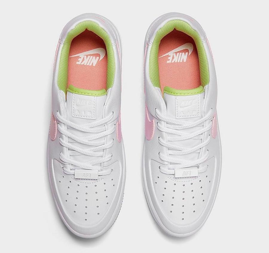Nike Air Force 1 Sage Pink Quartz CW5566-100 Release Date Info