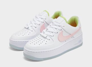Nike Air Force 1 Sage Pink Quartz CW5566-100 Release Date Info