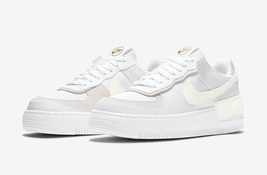 Nike Air Force 1 Shadow White Atomic Pink Sail Cz8107 100 Release