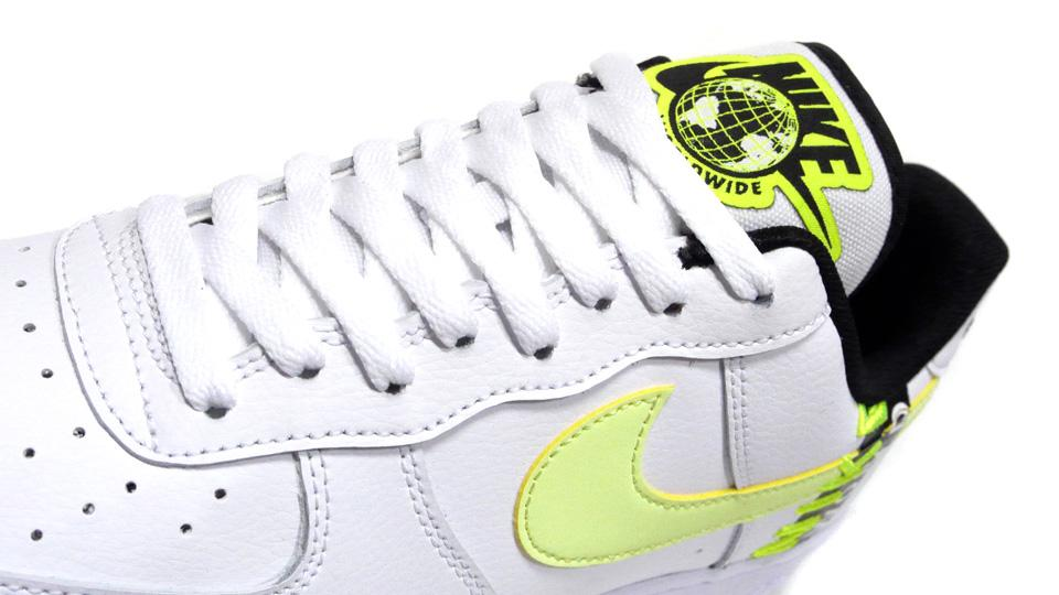 Nike Air Force 1 Worldwide White Volt CK6924-101 Release Date Info