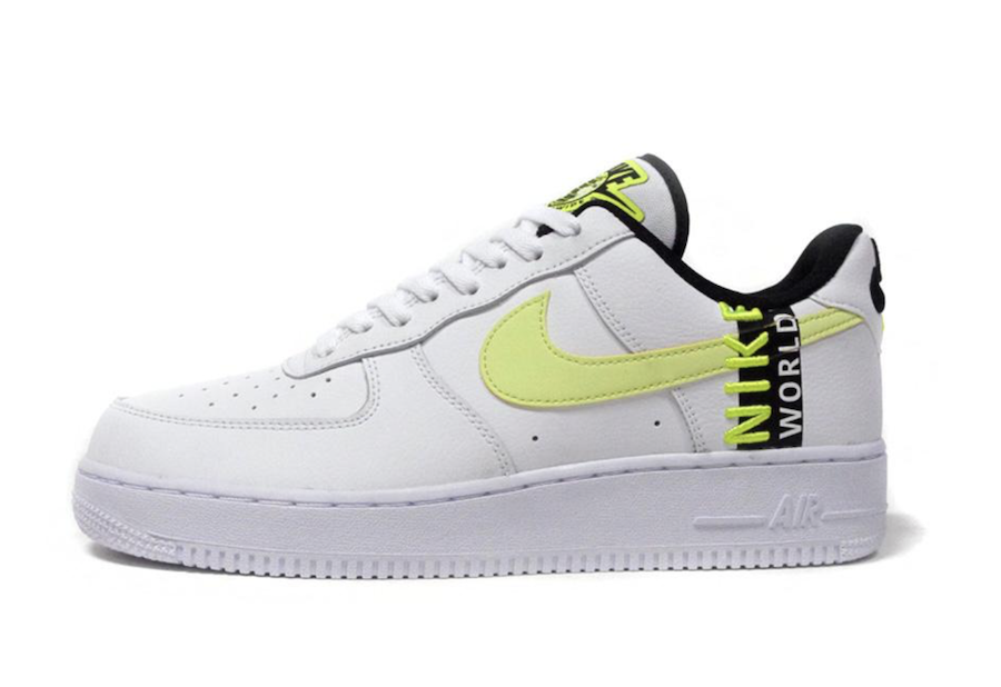 Nike Air Force 1 Worldwide White Volt CK6924-101