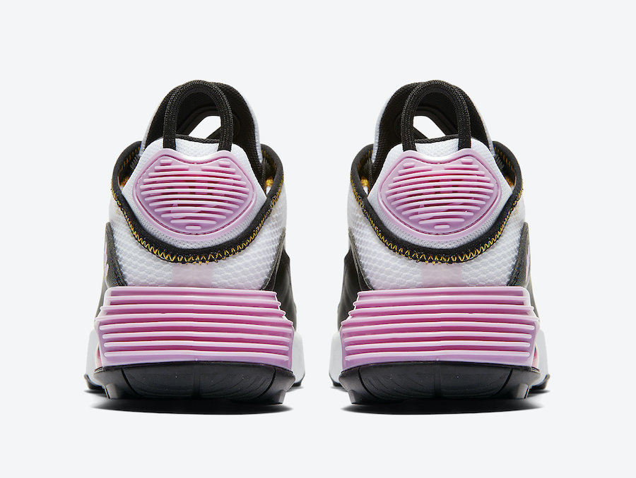 Nike Air Max 2090 WMNS White Black Pink CJ4066-104 Release Date Info