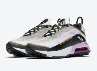Nike Air Max 2090 WMNS White Black Pink CJ4066-104 Release Date Info