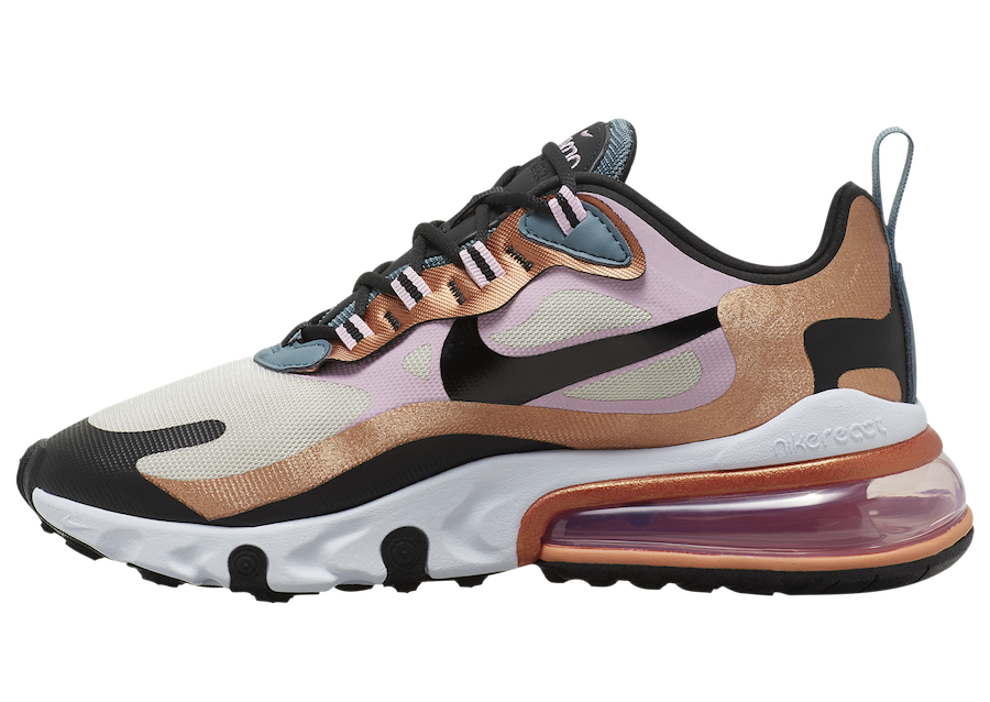 Nike Air Max 270 React Bronze CT1833-100 Release Date Info