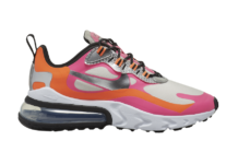Nike Air Max 270 React White Orange Pink CT1834-100