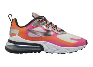 Nike Air Max 270 React White Orange Pink CT1834-100