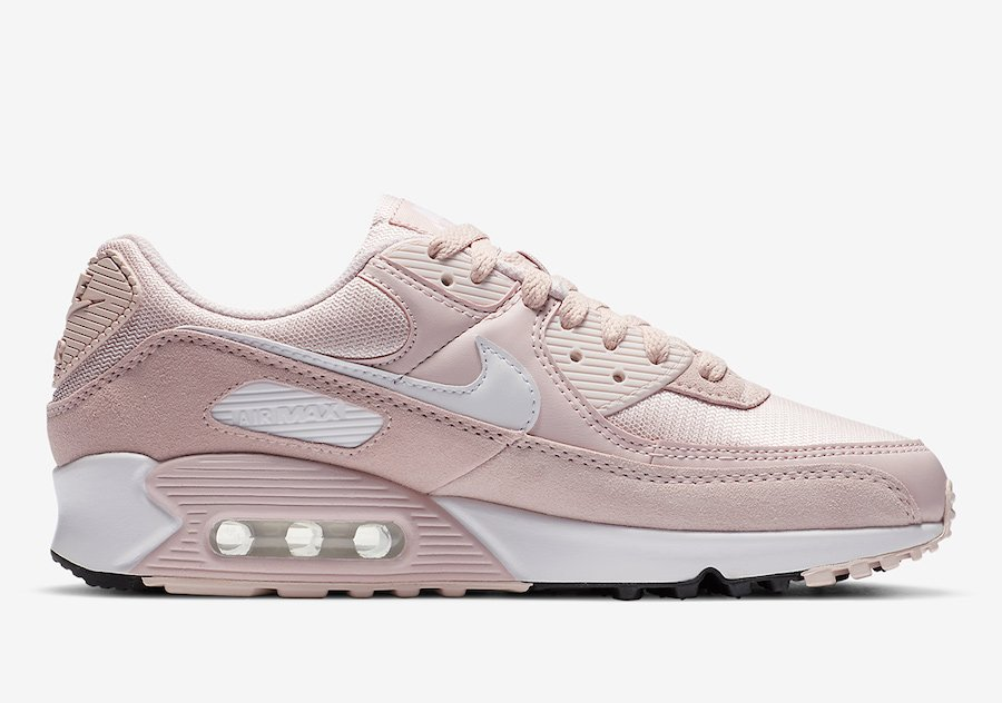 Nike Air Max 90 Barely Rose CZ6221-600 Release Date Info