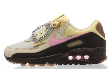 Nike Air Max 90 Cuban Link Velvet Brown CZ0469-200 Release Date Info
