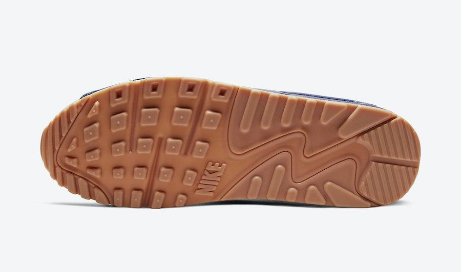 Nike Air Max 90 Home Away Sail Concord CJ0611-102 Release Date Info