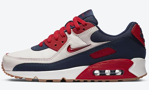 Nike Air Max 90 Home Away Sail University Red Release Date