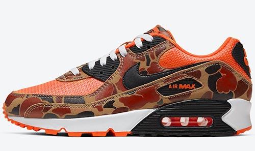 Nike Air Max 90 Orange Camo Release Date