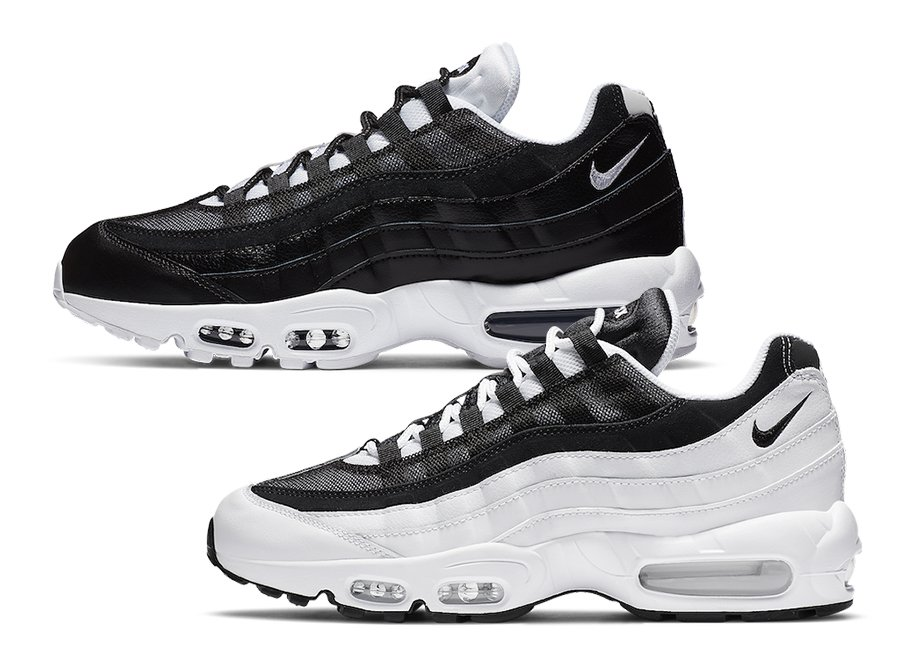 Nike Air Max 95 Black White Yin-Yang Release Date Info