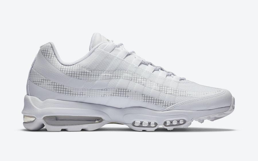 Nike Air Max 95 Ultra Triple White CZ7551-100 Release Date Info