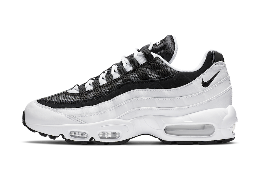 Nike Air Max 95 White Black CK6884-100 Release Date Info