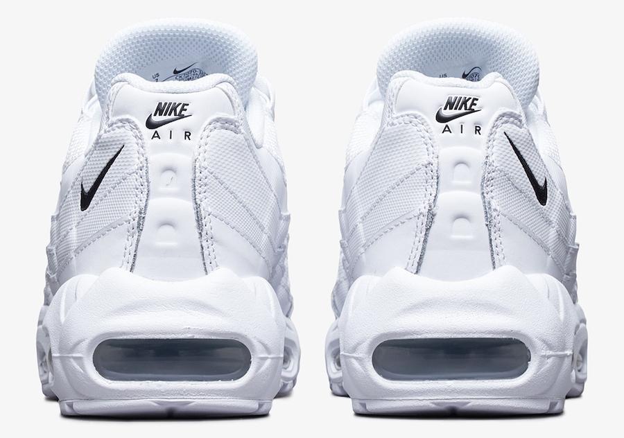 Nike Air Max 95 White Black CK7070-100 Release Date Info