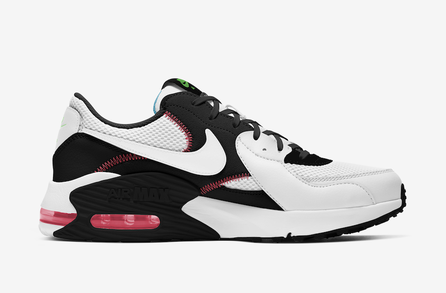 Nike Air Max Excee White Black Pink CD4165-105 Release Date Info