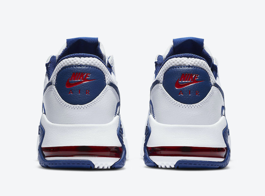 Nike Air Max Excee White Navy Blue Red CZ9168-100 Release Date Info