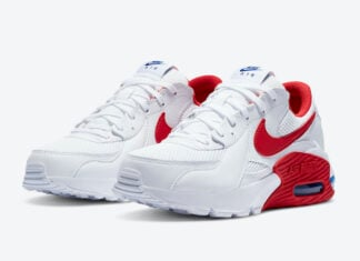 Nike Air Max Excee White Red CZ9373-100 Release Date Info