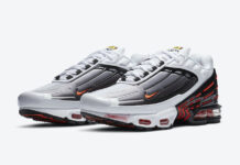 Nike Air Max Plus 3 III Black White Red CK6715-101 Release Date Info