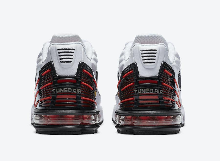 Nike Air Max Plus 3 III Black White Red CK6715-101 Release Date Info