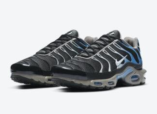 Nike Air Max Plus Black Blue Grey CT1097-002 Release Date Info