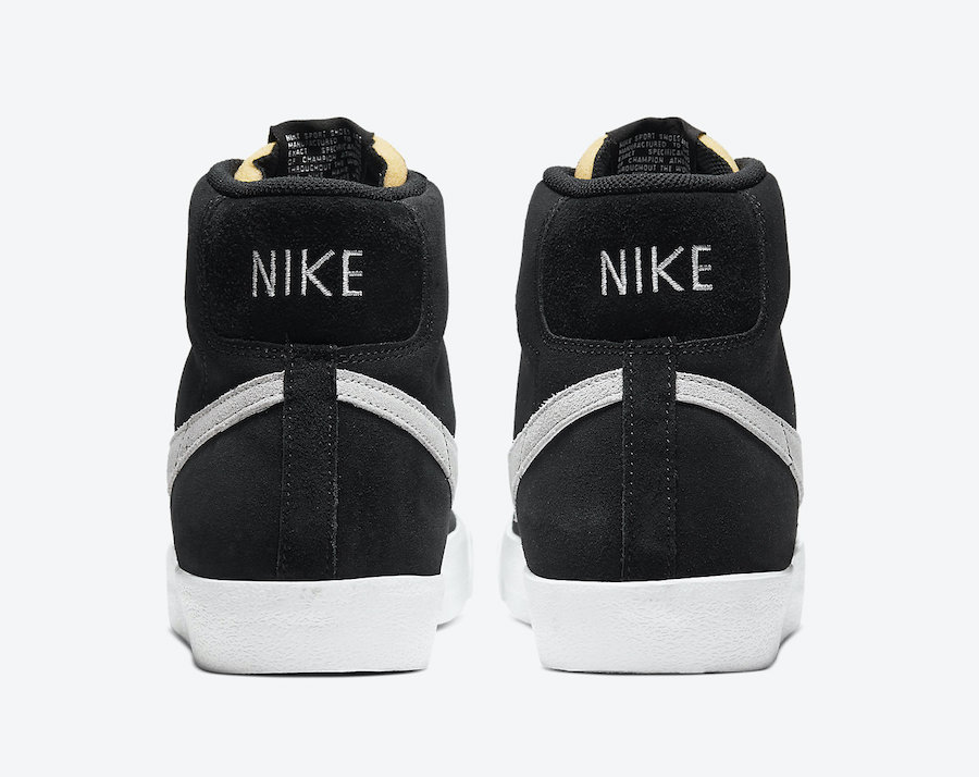 Nike Blazer Mid 77 Suede Black Photon Dust CI1172-002 Release Date Info