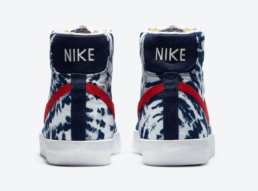 Nike Blazer Mid Tie-Dye CZ7874-600 Release Date Info