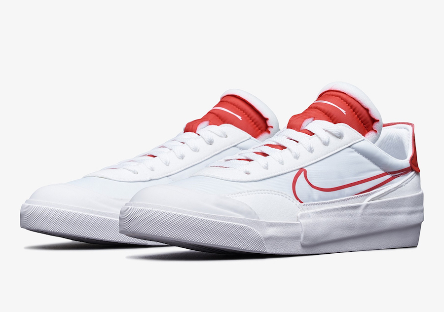 Nike Drop Type White University Red CQ0989-103 Release Date Info