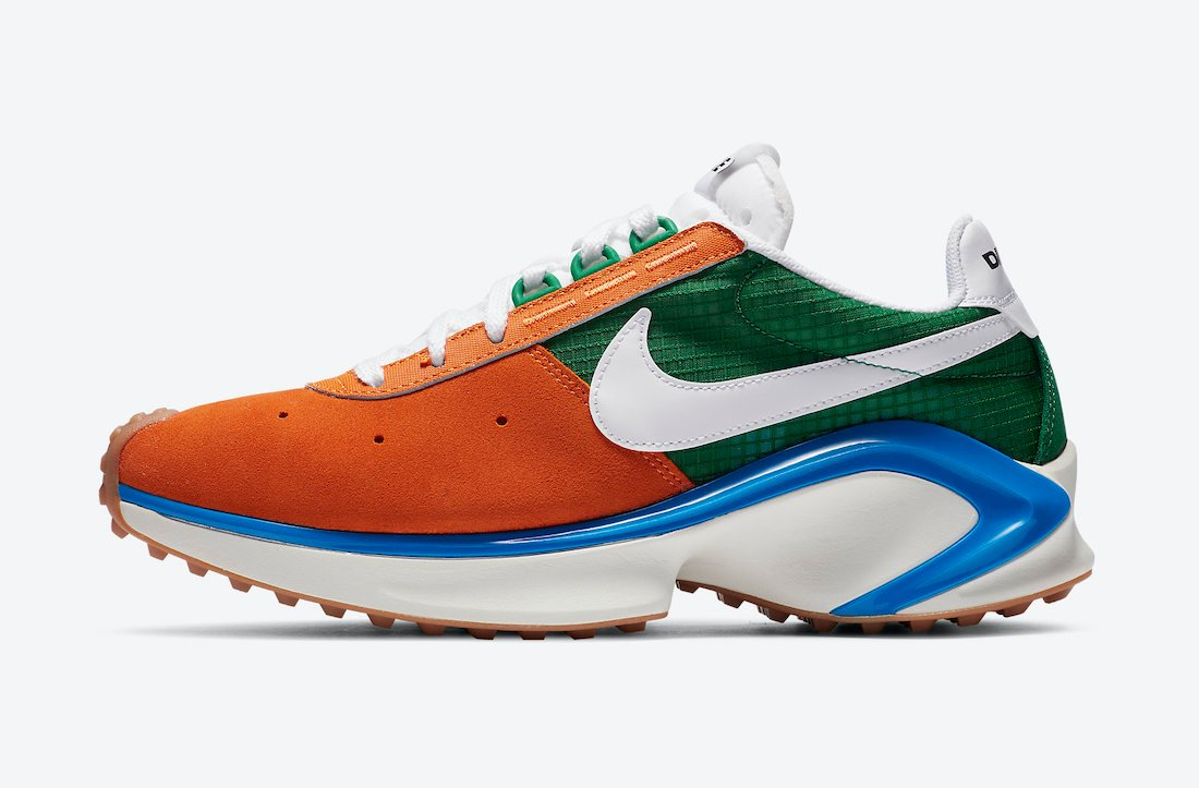 Nike D/SM/X Waffle Starfish White Pine Green Sail CQ0205-800 Release Date
