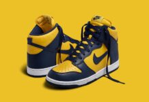 Nike Dunk High Michigan CZ8149-700 2020 Release Date Info
