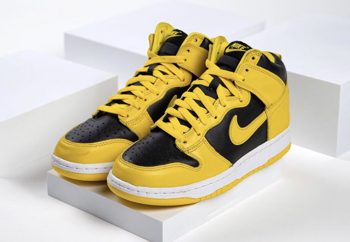 Nike Dunk High Varsity Maize CZ8149-002 Release Date