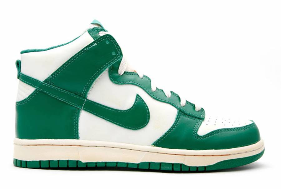Nike Dunk High Vintage Pine Green 2008