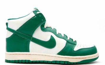 Nike Dunk High White Pro Green CZ8149-100 Release Date Info
