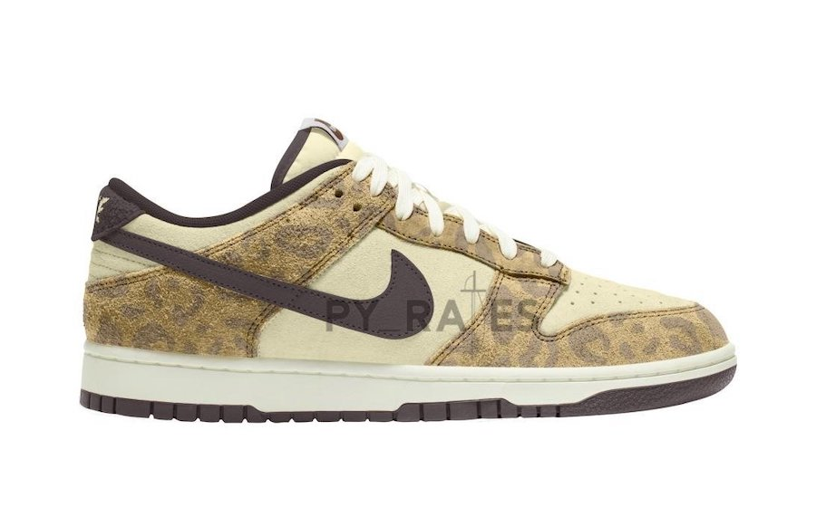 Nike Dunk Low Animal Beach Baroque Brown Release Date Info