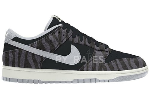Nike Dunk Low Animal Black Pure Platinum 2021 Release Date