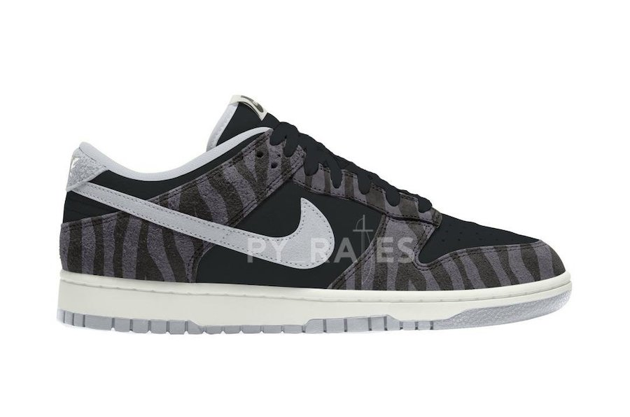 Nike Dunk Low Animal Black Pure Platinum Release Date Info