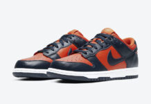 Nike Dunk Low Champ Colors University Orange Marine CU1727-800 Release Date