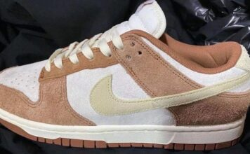 Nike Dunk Low PRM Medium Curry DD1390-100 Release Date