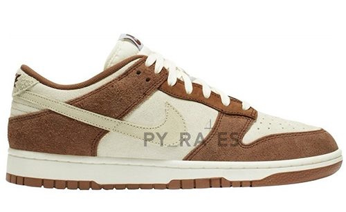 Nike Dunk Low PRM Sail Medium Curry Fossil 2021 Release Date