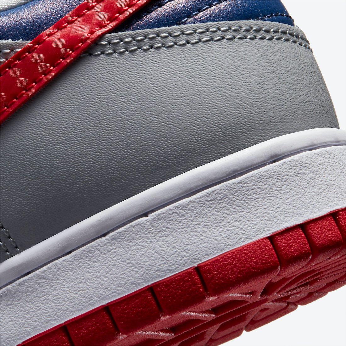 Nike Dunk Low Samba CZ2667-400 2020 Release Info