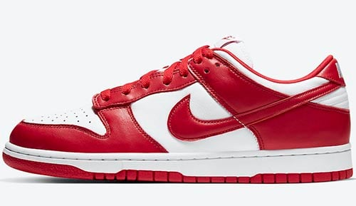 Nike Dunk Low University Red 2020 Release Date