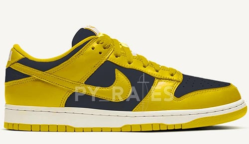 Nike Dunk Low Varsity Maize Midnight Navy 2021 Release Date