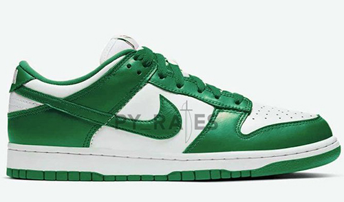 Nike Dunk Low White Team Green 2021 Release Date